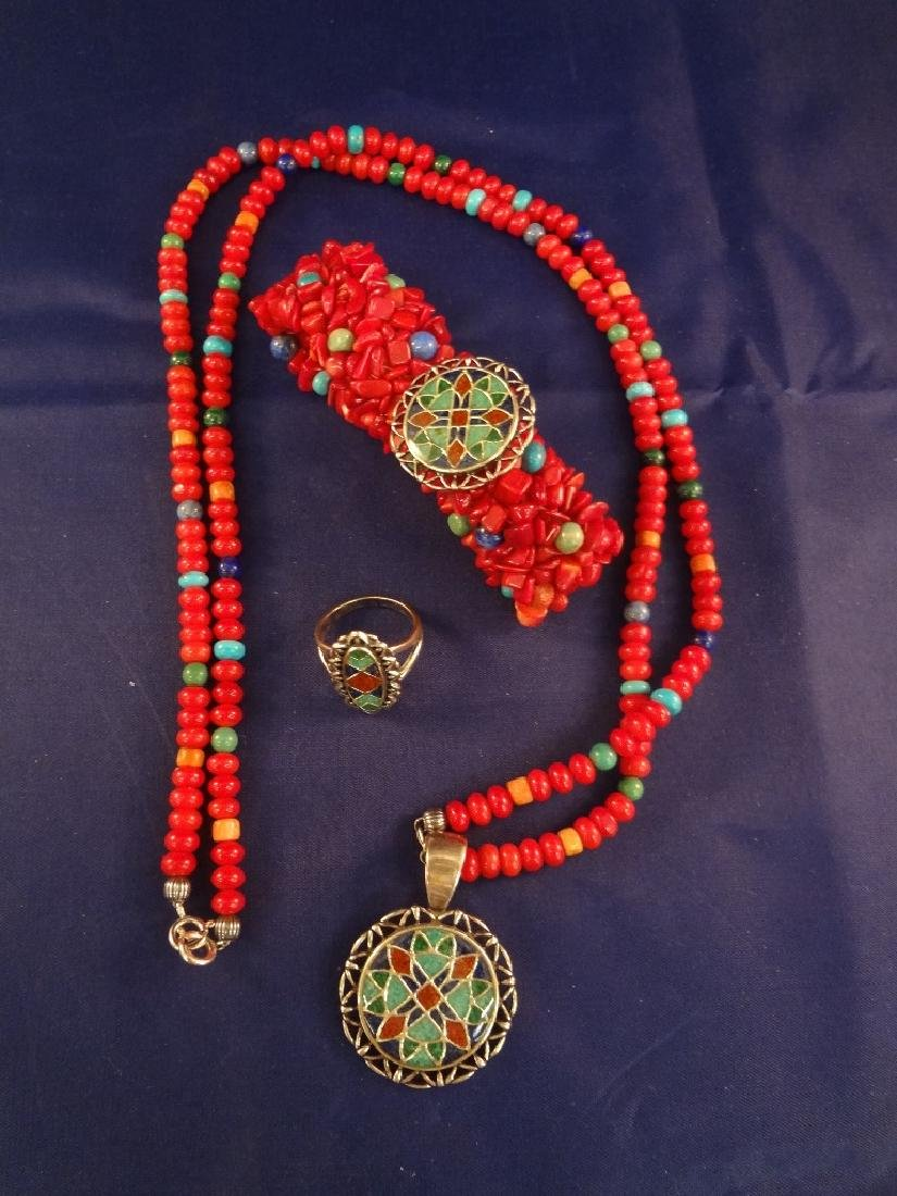 Carolyn Pollack Relios Multi Color Stone and Sterling