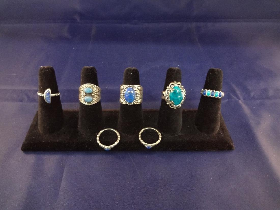 Carolyn Pollack (7) Sterling Silver Rings