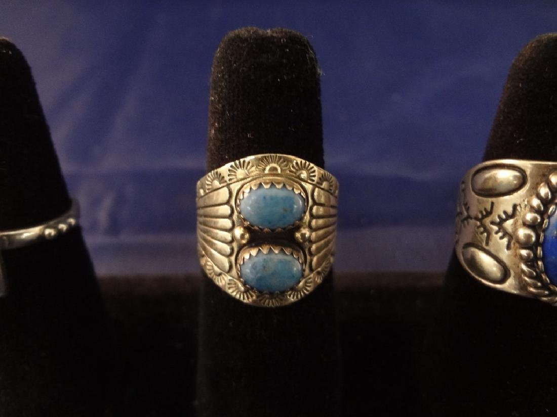 Carolyn Pollack (7) Sterling Silver Rings - 3