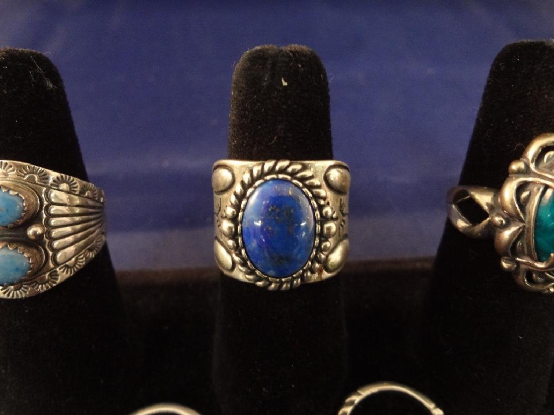 Carolyn Pollack (7) Sterling Silver Rings - 4