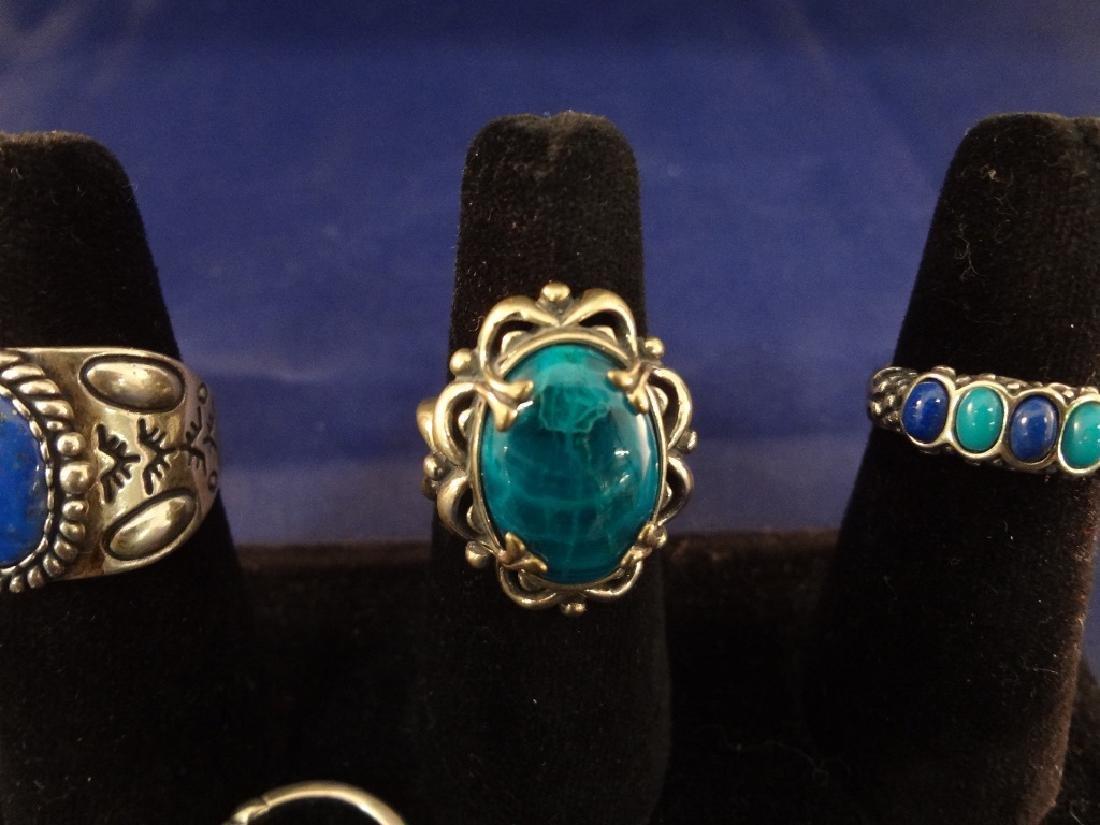 Carolyn Pollack (7) Sterling Silver Rings - 5