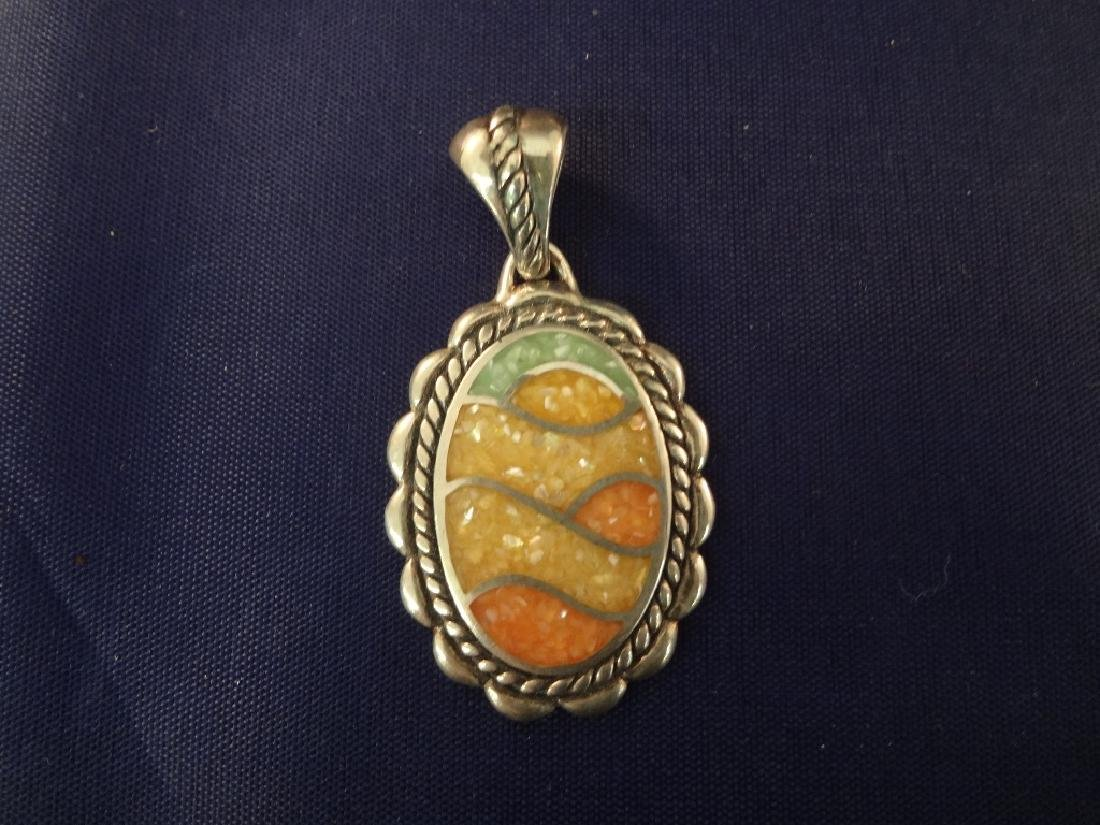 Carolyn Pollack Sterling Silver (5) Pendants: 4 - 2