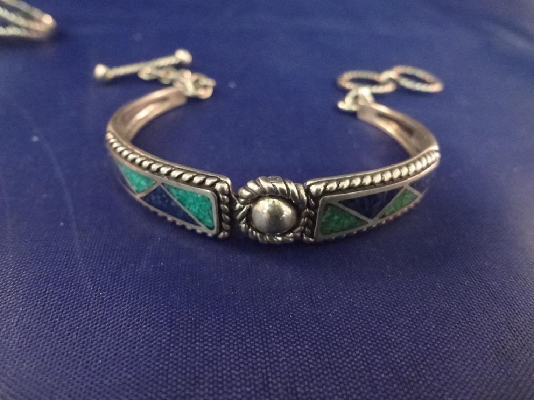 Carolyn Pollack Sterling Silver Jewelry Group: (2) - 6