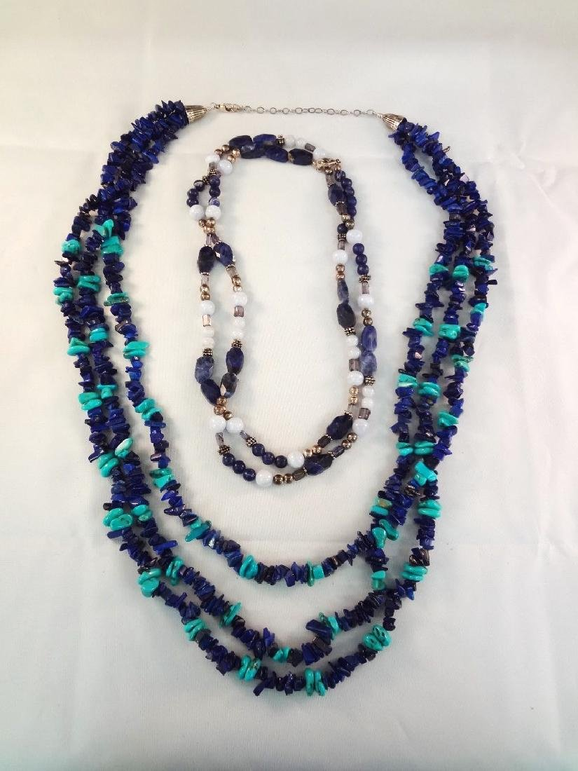Southwest Sterling Silver and Turquoise Necklaces