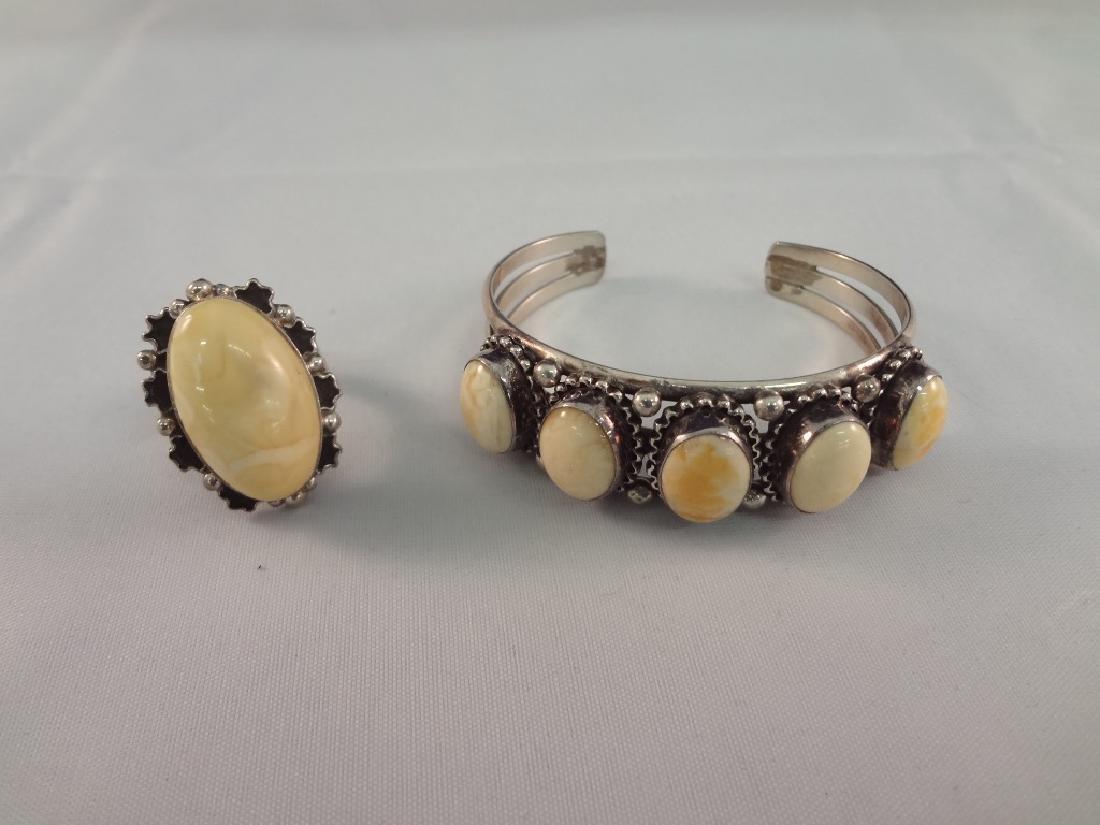 Desert Rose Trading Sterling SIlver Cuff Bracelet and
