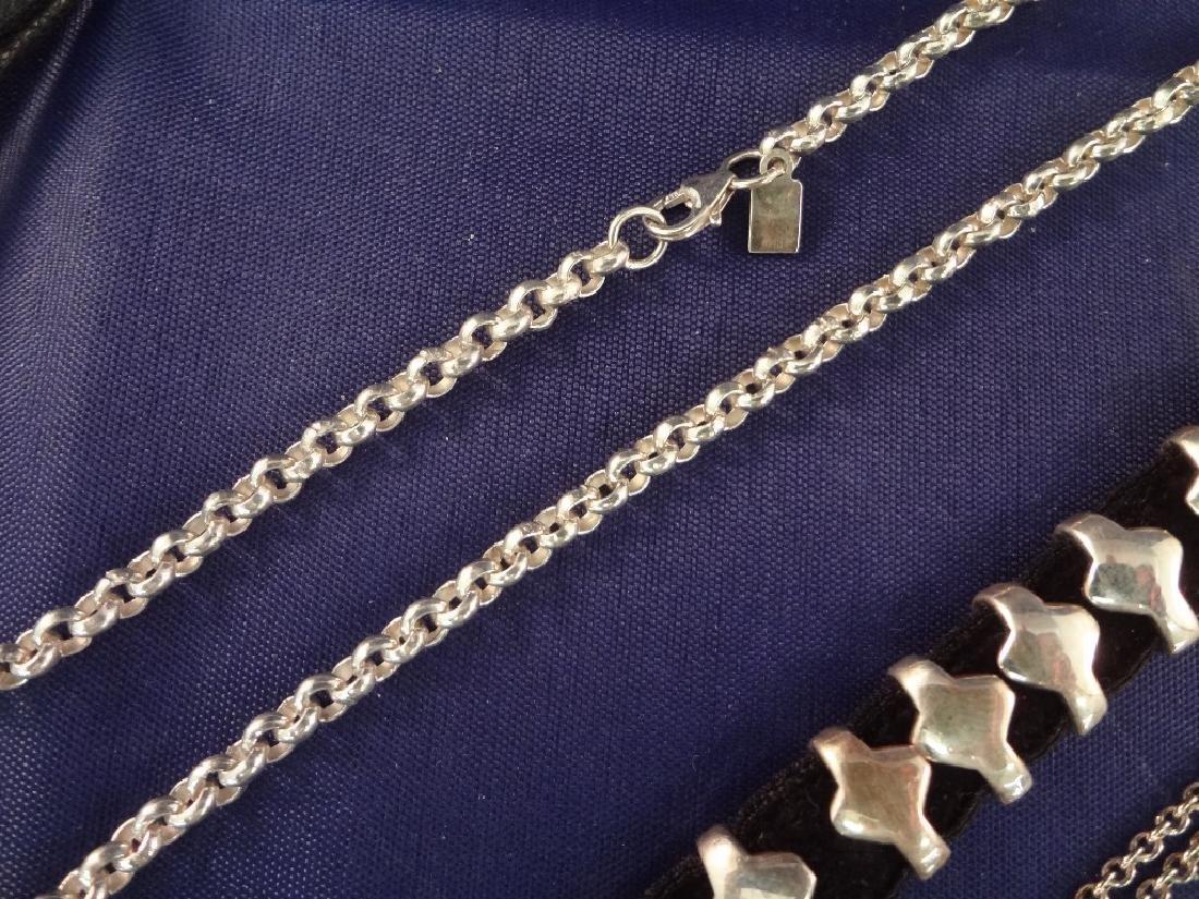 Robert Lee Morris Sterling Silver Jewelry Group - 5