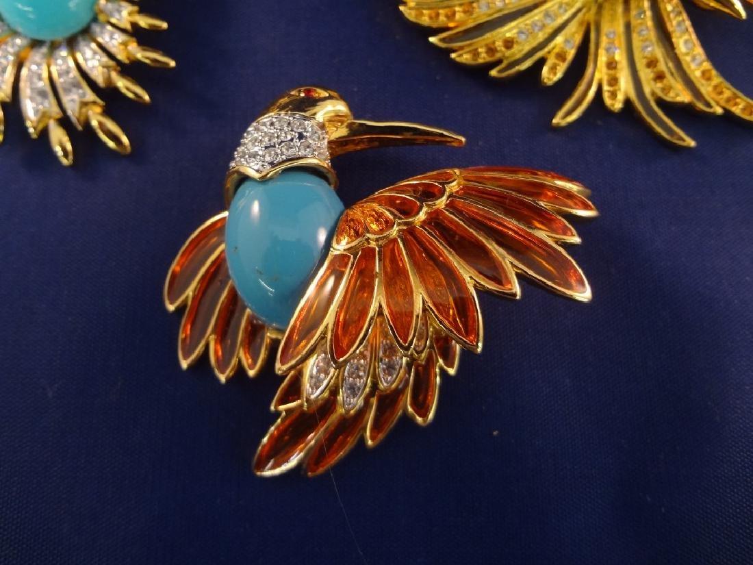 Joan Rivers Vintage Bird Brooches (6) - 2