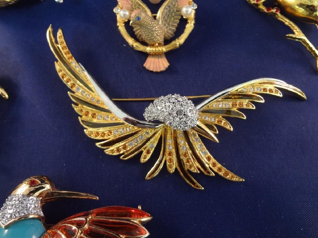 Joan Rivers Vintage Bird Brooches (6) - 3