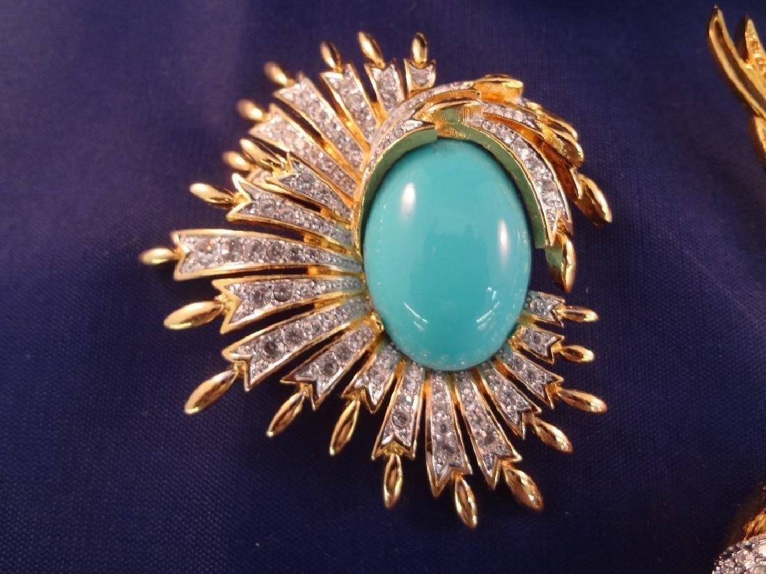 Joan Rivers Vintage Bird Brooches (6) - 4