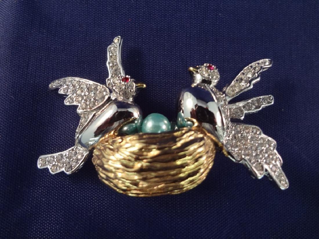 Joan Rivers Vintage Bird Brooches (6) - 5
