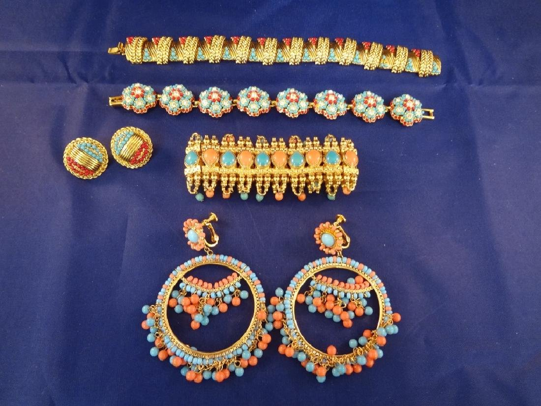 Joan Rivers (2) Bracelet and Matching Earrings Sets