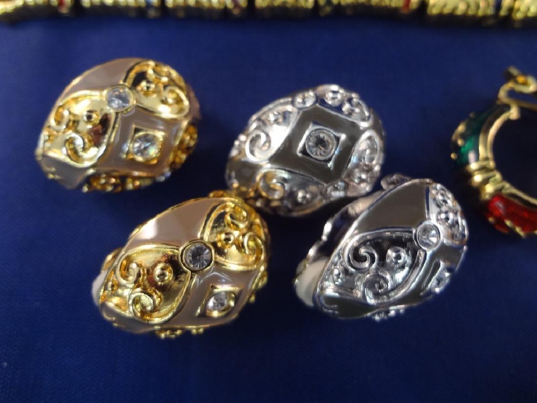 Joan Rivers (2) Bracelets, (1) Brooch, (5) Clip On - 3