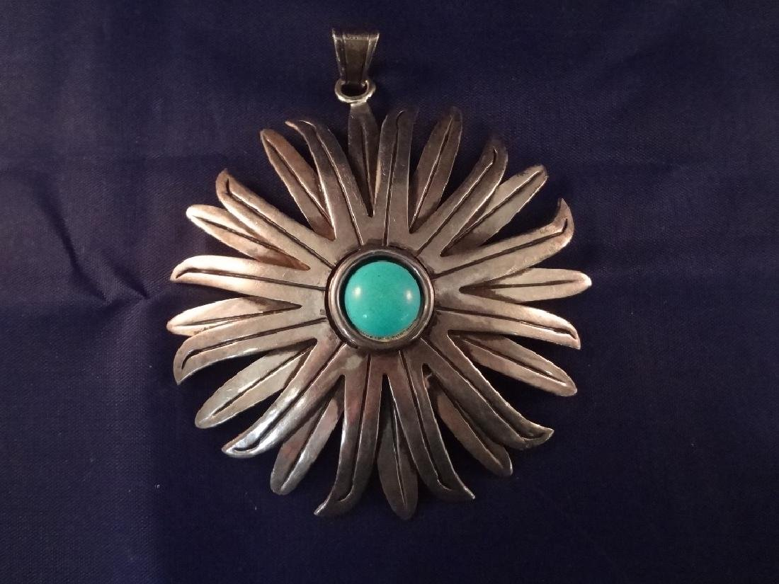 Mexican Taxco Sterling Silver Brooches (4) - 5