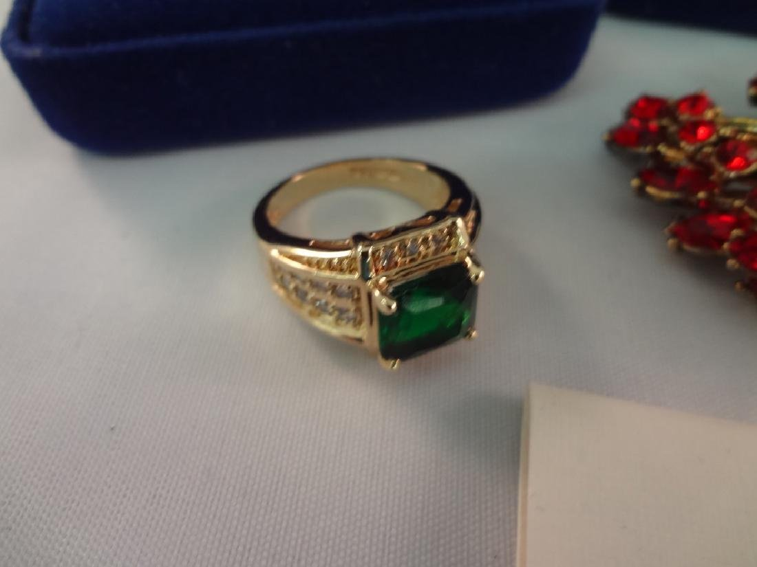 Jacqueline Bouvier Kennedy (3) Rings, Earrings, and - 6