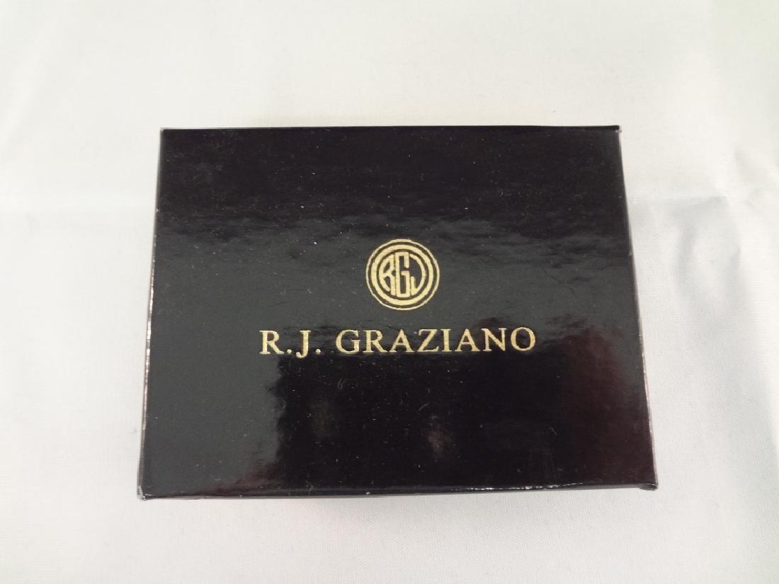 (3) Graziano Brooches Original Boxes: Fish, Tree, - 5