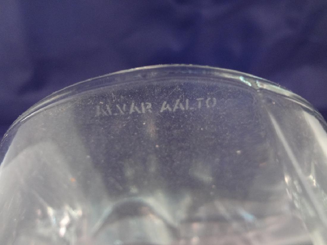 Alvar Aalto Savoy Art Glass Ribbon Vase - 3