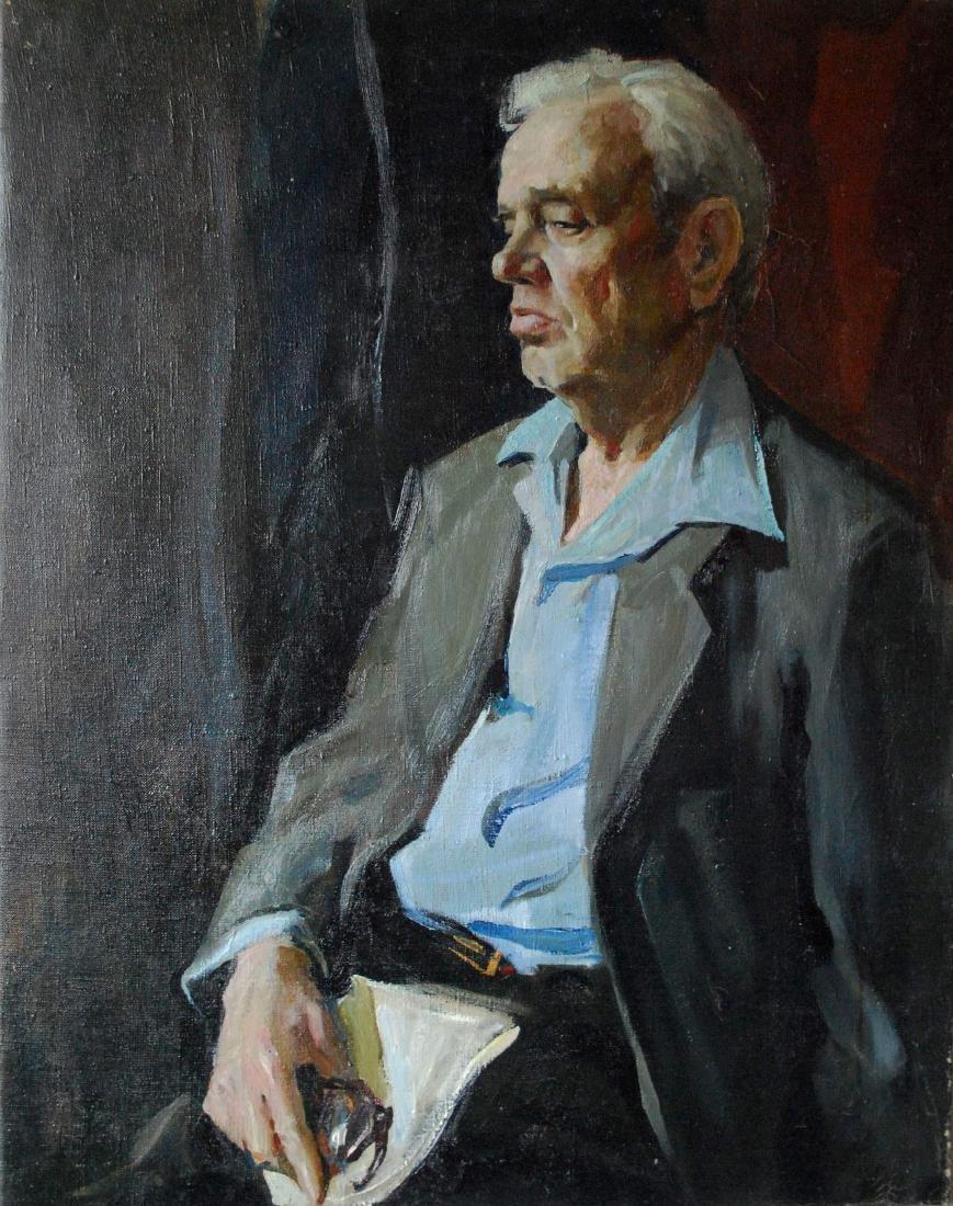 Vitally Grigoryev (Russian, b. 1957) Original Oil