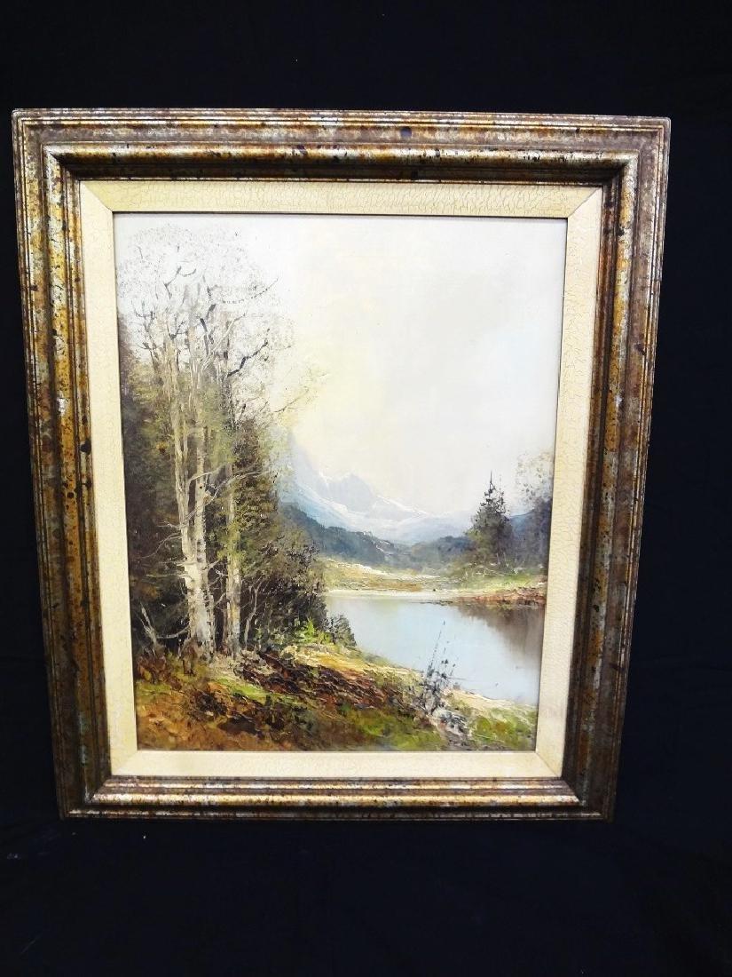 Kort Original Oil Painting on Canvas