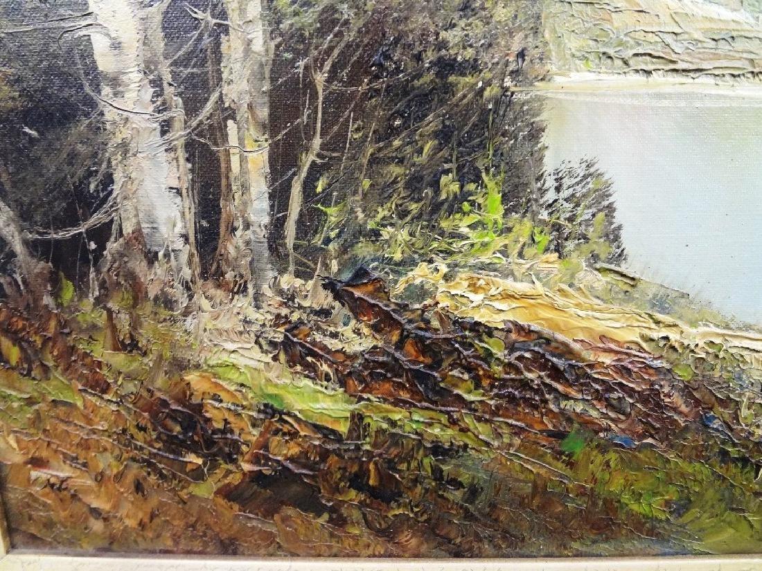 Kort Original Oil Painting on Canvas - 2
