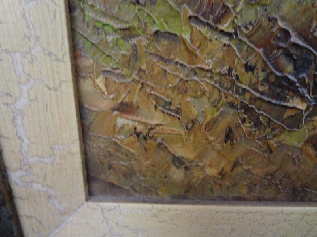 Kort Original Oil Painting on Canvas - 4