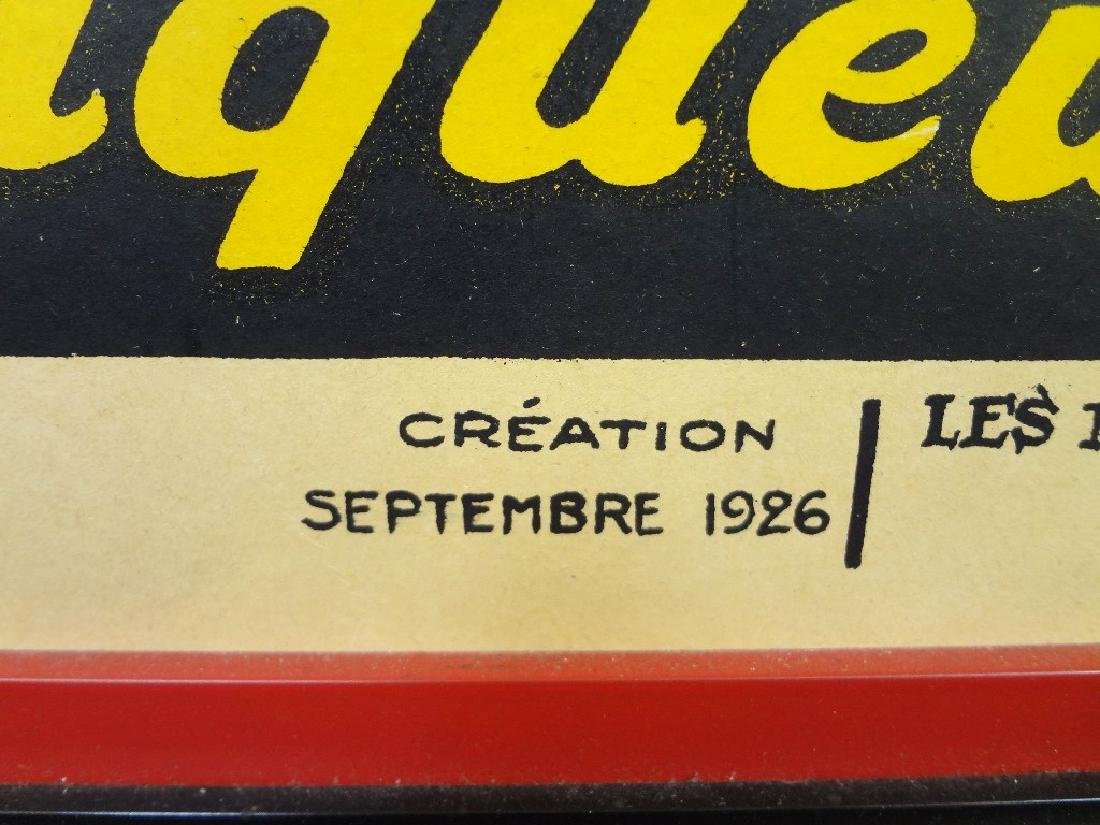 1926 Brasserie Lengrand Frog and Beer Original Paris - 3