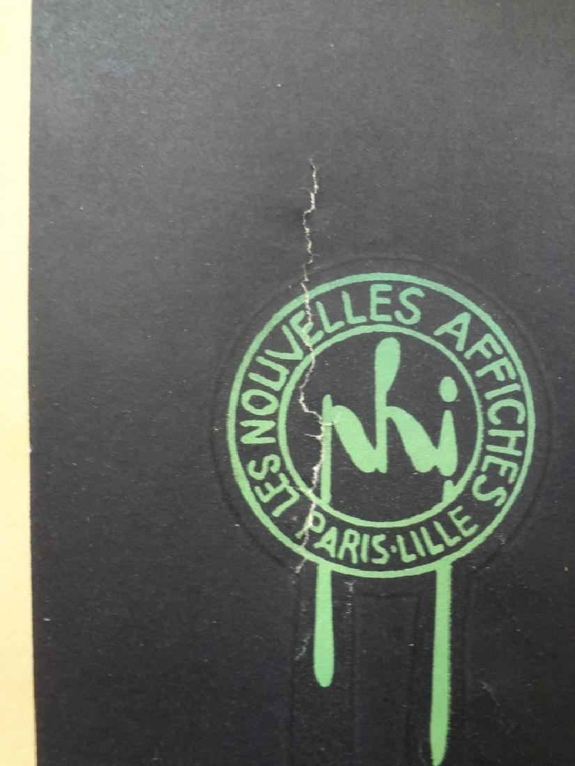 1926 Brasserie Lengrand Frog and Beer Original Paris - 4