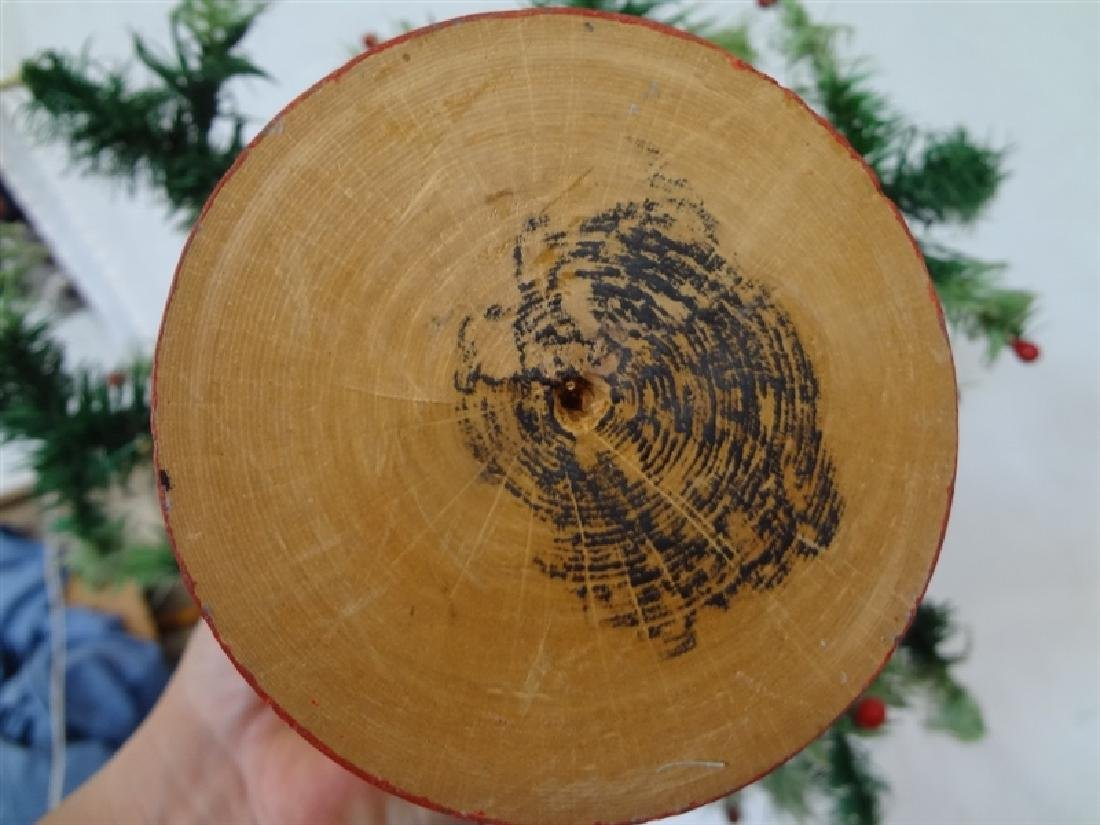 Vintage early 20th century Feather Christmas Tree - 4