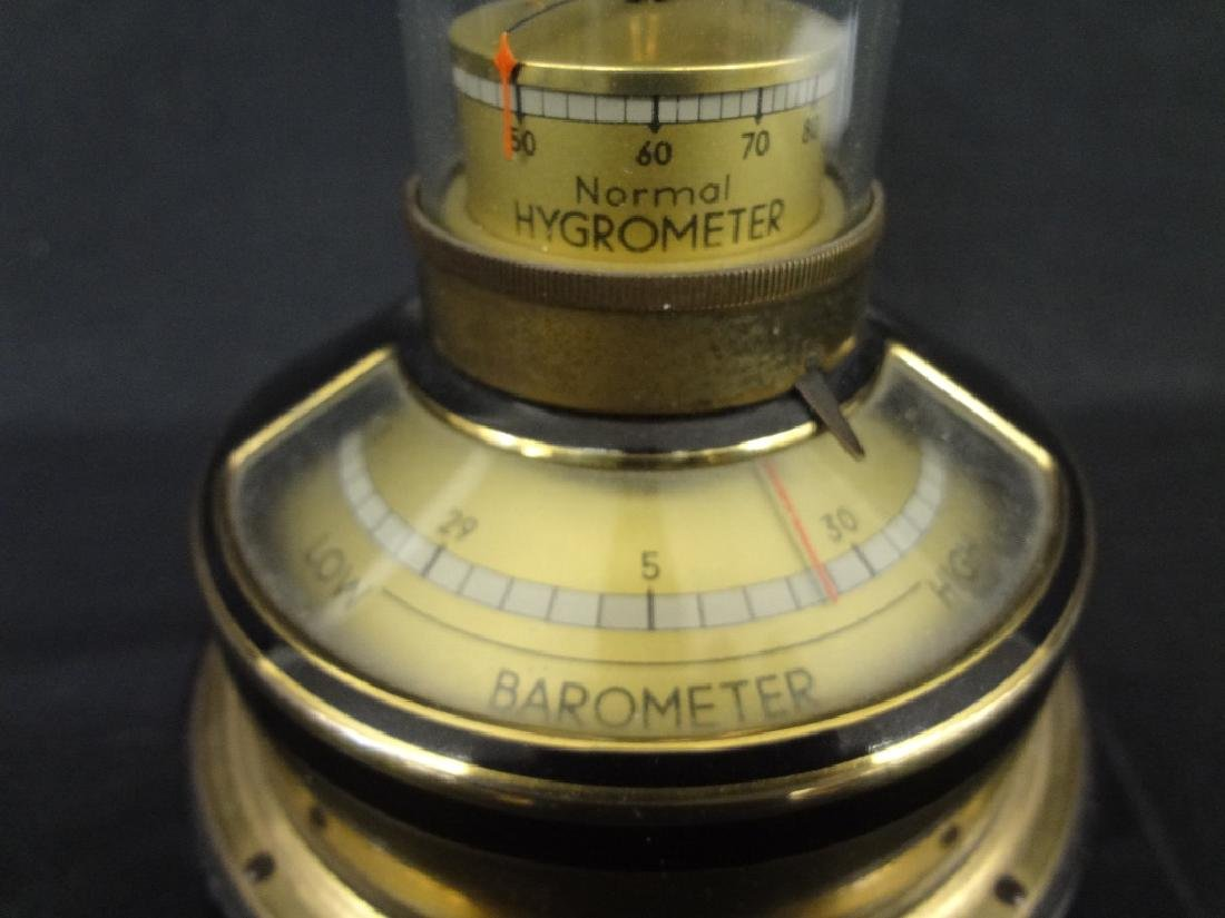 Lufft German Hygrometer/Barometer/Thermometer/Compass - 2
