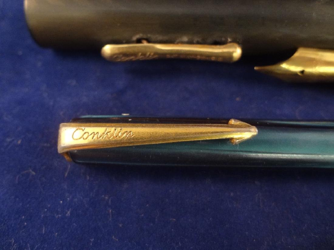 (3) Conklin Chicago Fountain Pens and Pencils - 3
