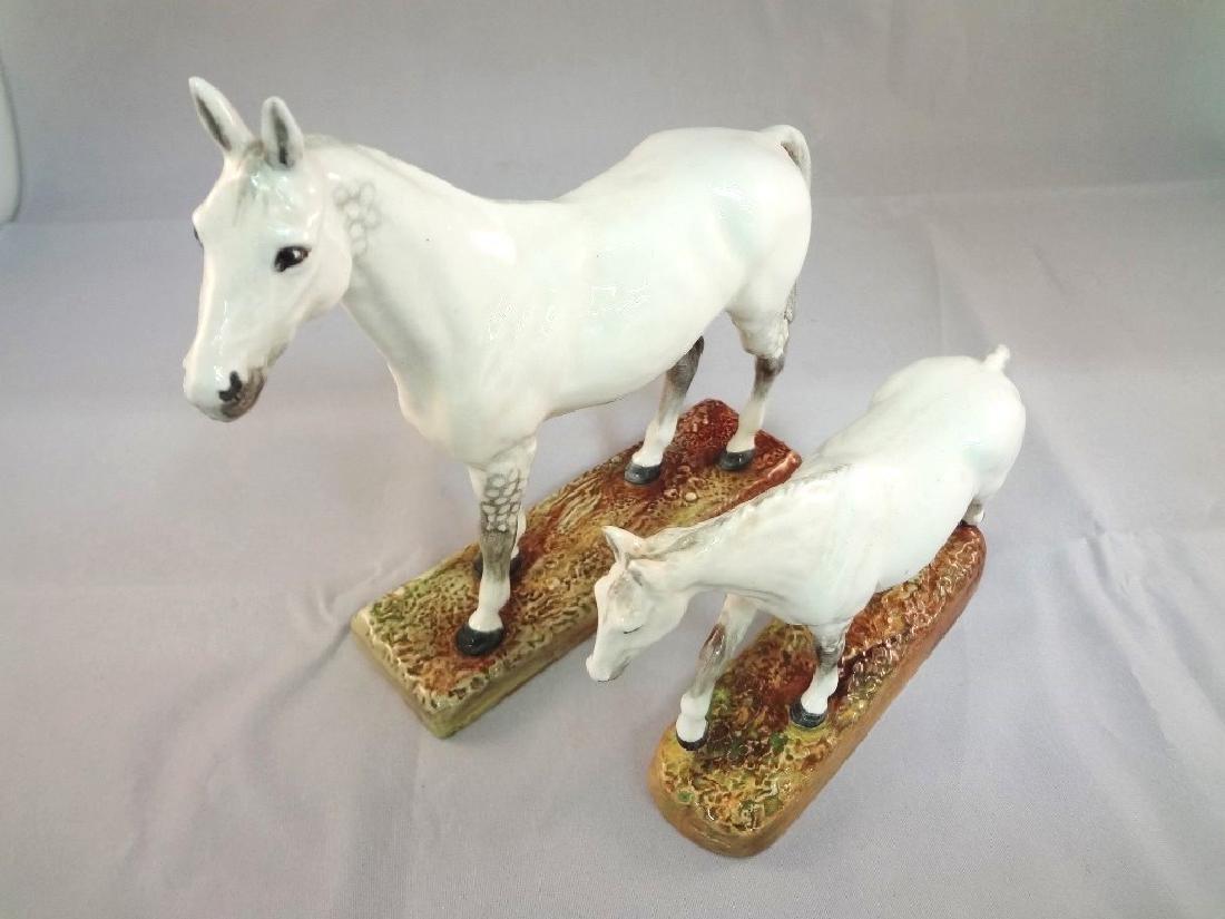 Royal Doulton Horse Figurines HN2567, HN2570