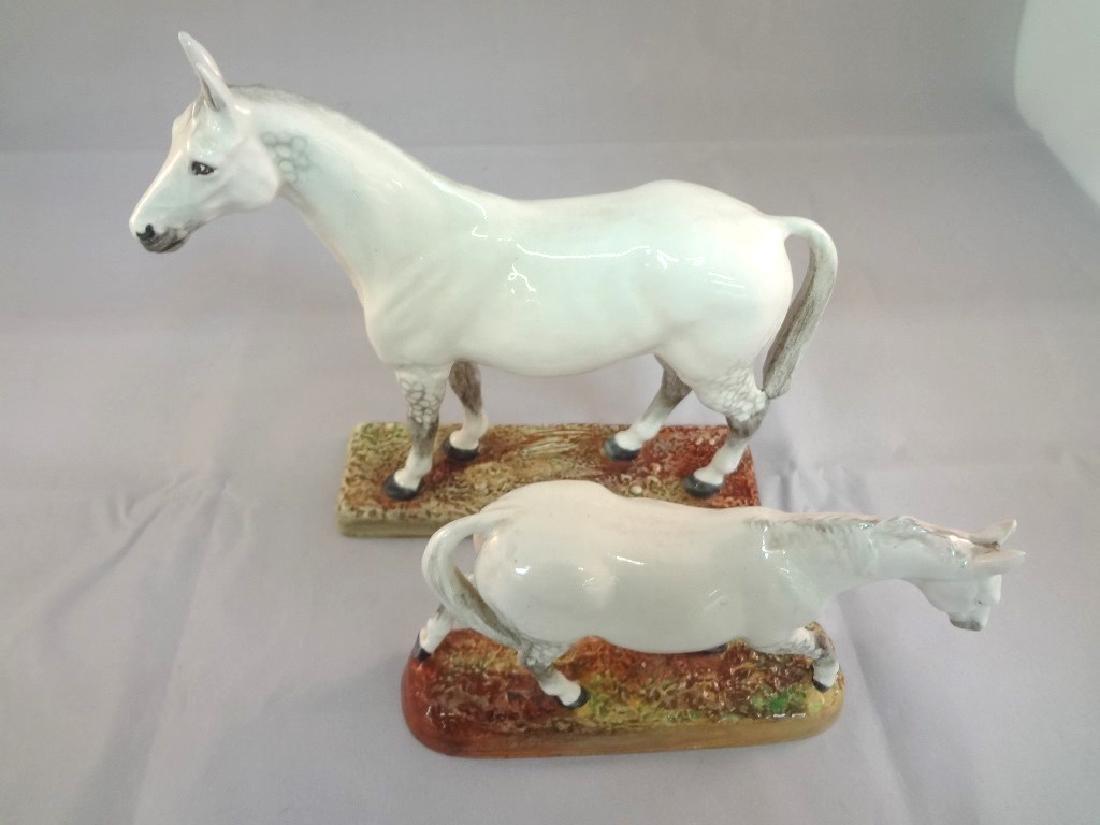 Royal Doulton Horse Figurines HN2567, HN2570 - 2