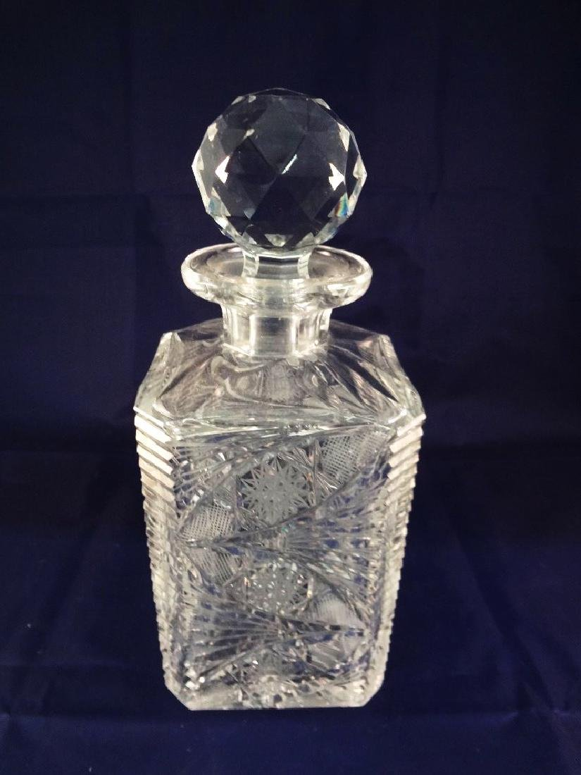 Baccarat Crystal Decanter with Stopper
