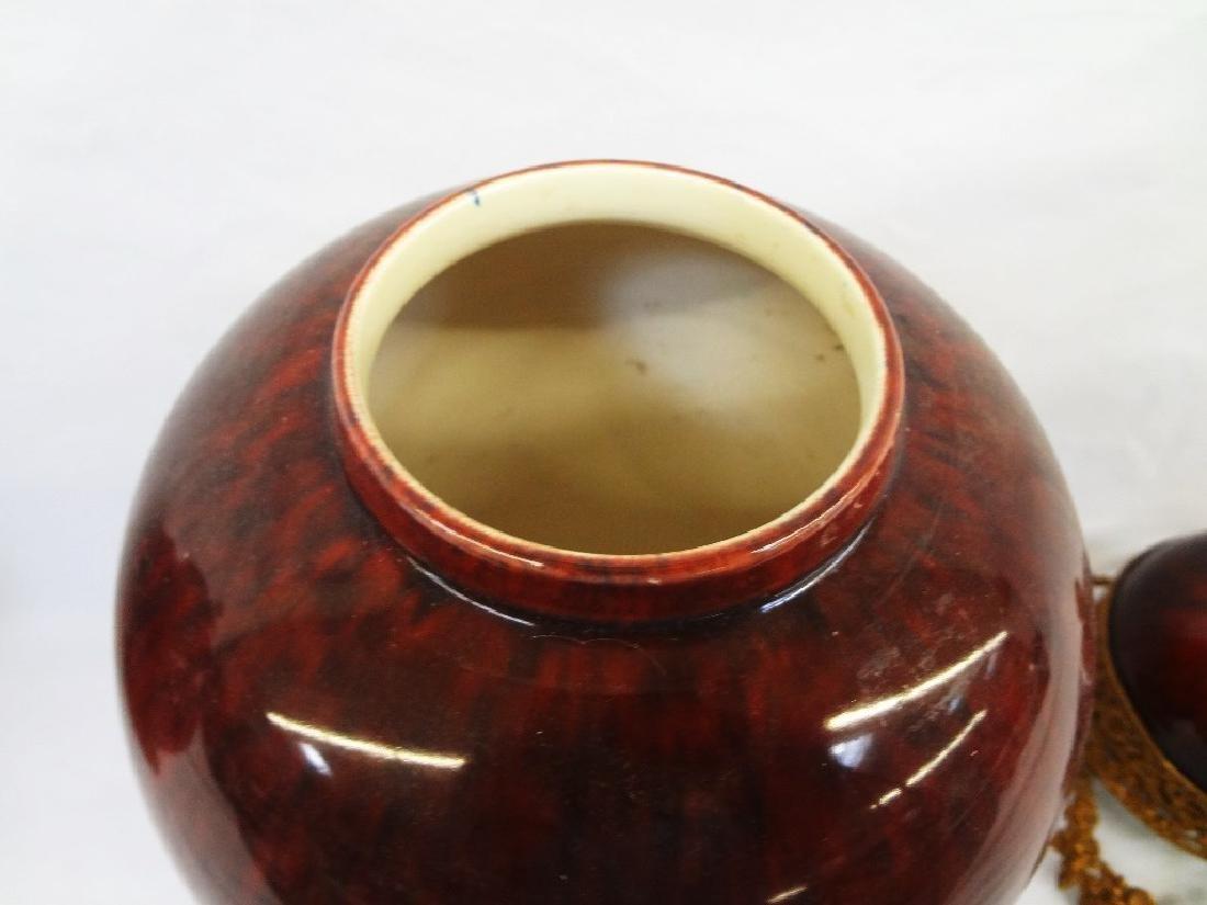 Paul Milet France Sevres Pair Covered Jars - 3