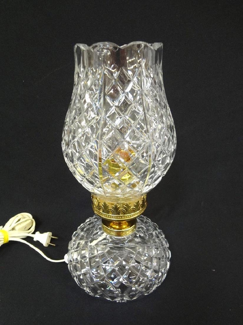 Waterford Crystal Tulip table Lamp Squat Base
