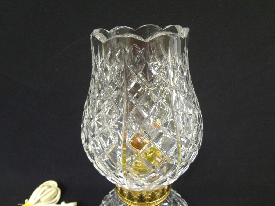 Waterford Crystal Tulip table Lamp Squat Base - 2