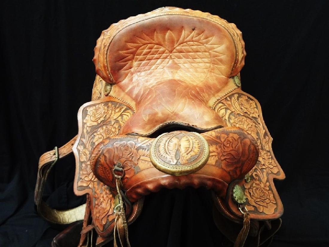 1960's Authentic Imperial Tex-Tan Western Saddle Hand