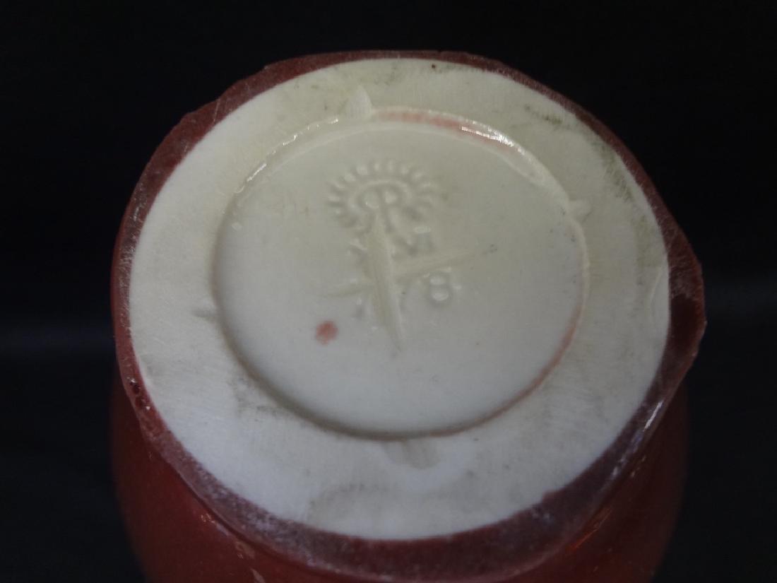 Rookwood Plum Skinny Neck Stick Vase - 4