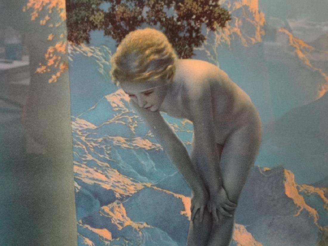 "Maxfield Parrish ""Daybreak"" Lithograph The House of Art - 3"