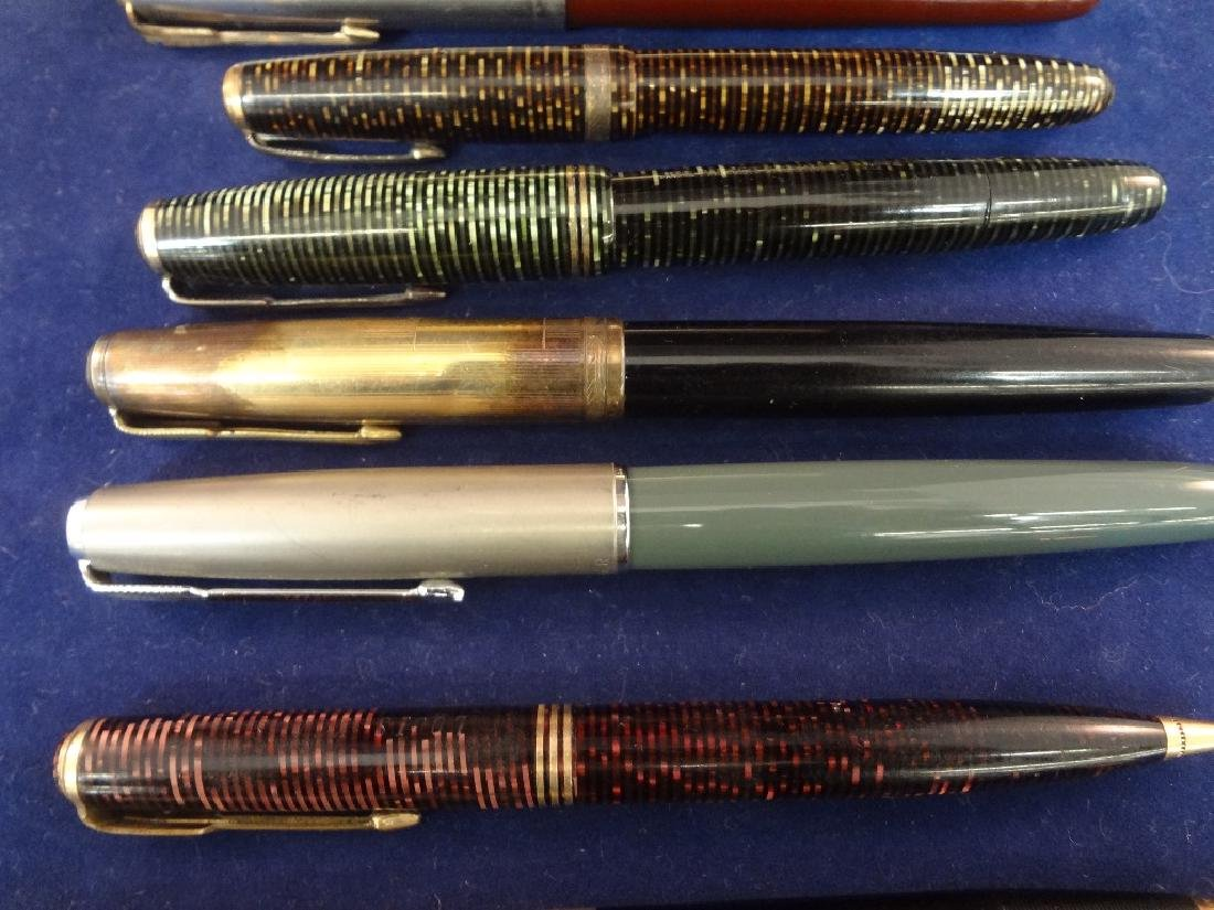 (10) Parker Fountain Pens and Pencils - 4