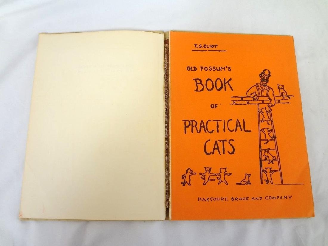 """T.S. Eliot's """"Old Possum's Book of Practical Cats"""""""