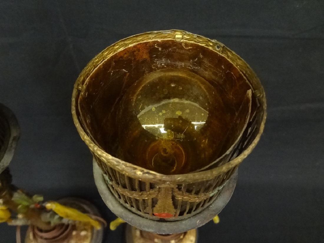 Bergman Cold Painted Bird Lamps - 4