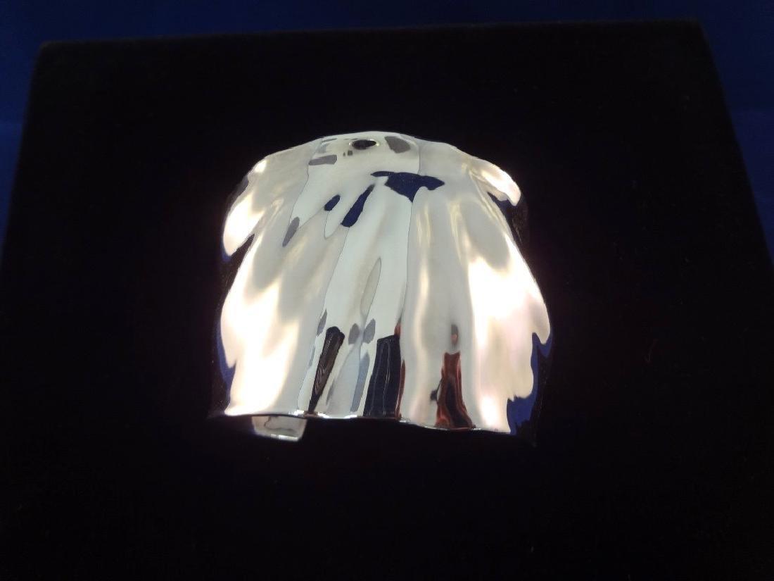 Robert Lee Morris Sterling Silver Chunky Cuff Bracelet