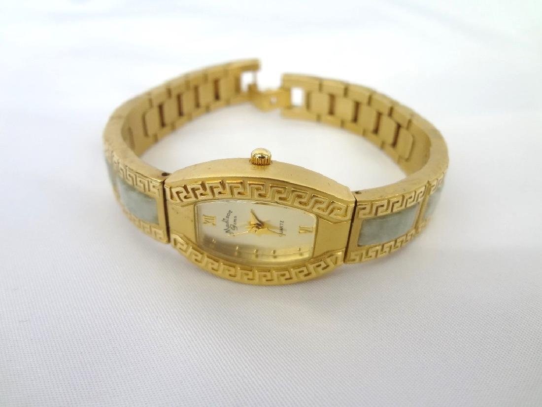 (4) Jade Watches Sterling, and Gold Tone - 2
