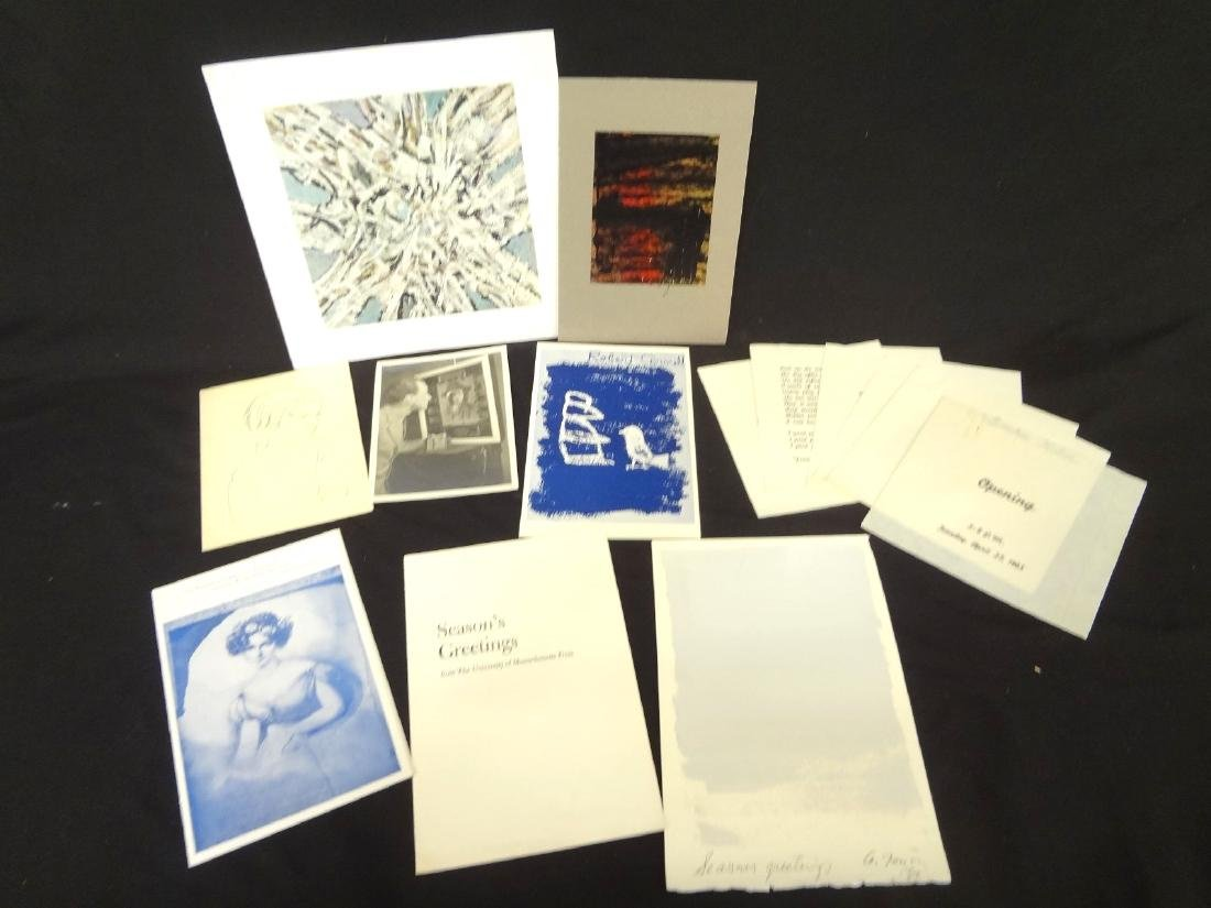 Collection of 1960's Modern Art Ephemera and Works
