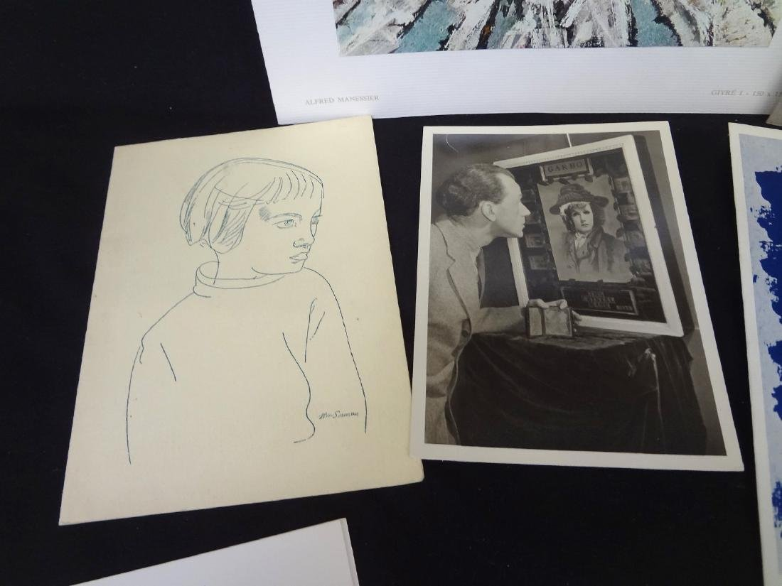 Collection of 1960's Modern Art Ephemera and Works - 4