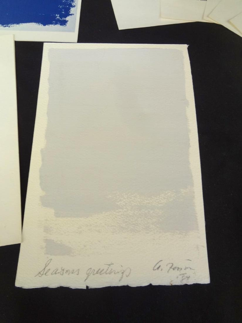 Collection of 1960's Modern Art Ephemera and Works - 6