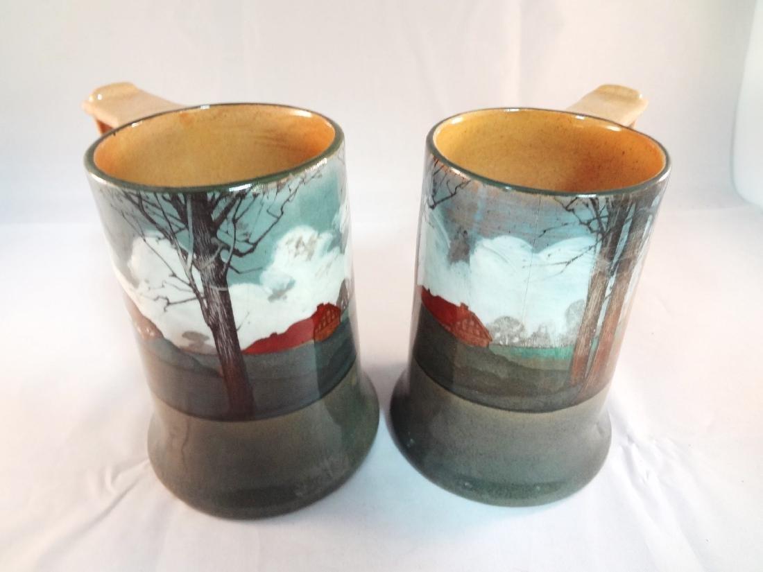 Royal Doulton Deldare Ware Mugs