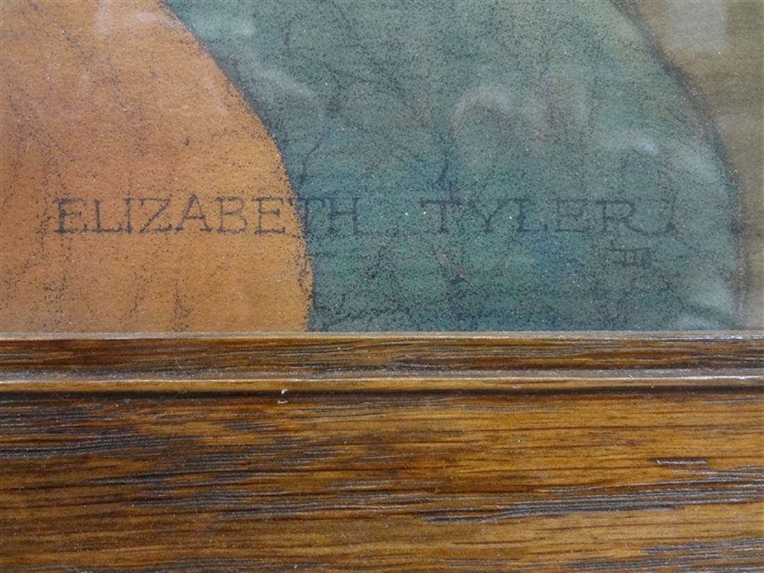"Elizabeth Tyler Wolcott Lithograph ""Goldilocks and The - 2"