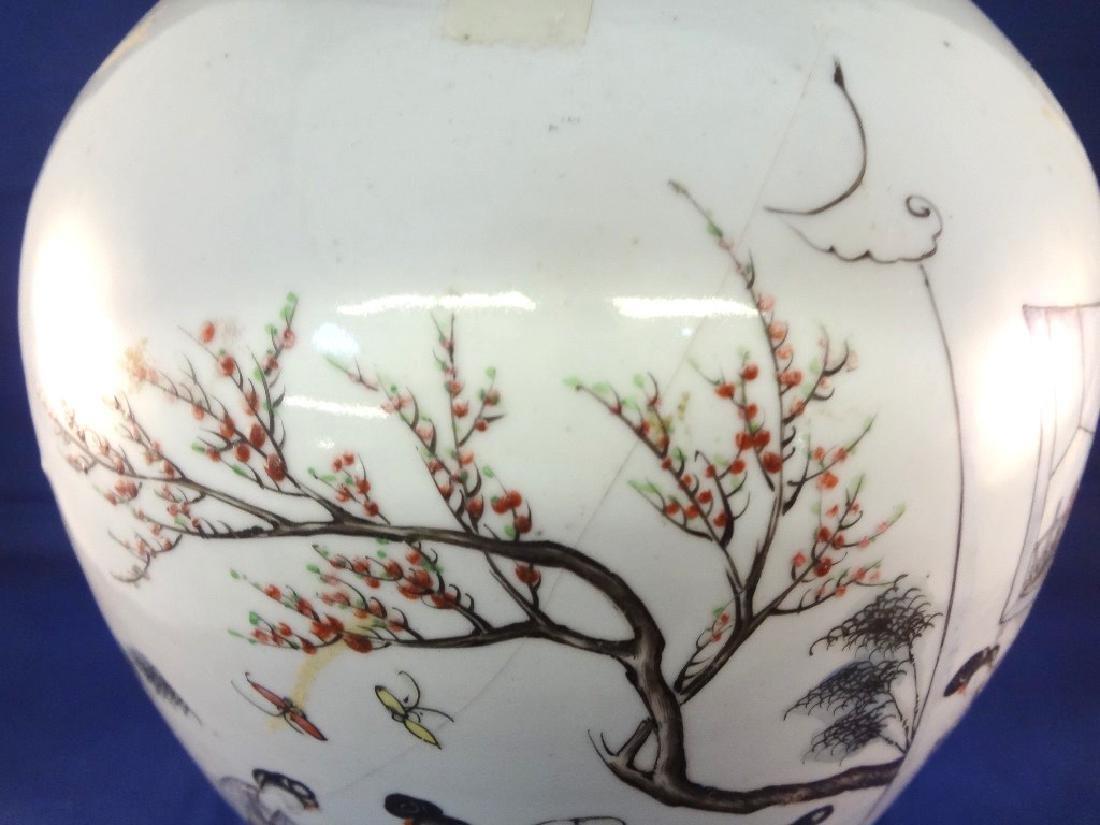 19th Century Lidded Chinese Ginger Jar - 2