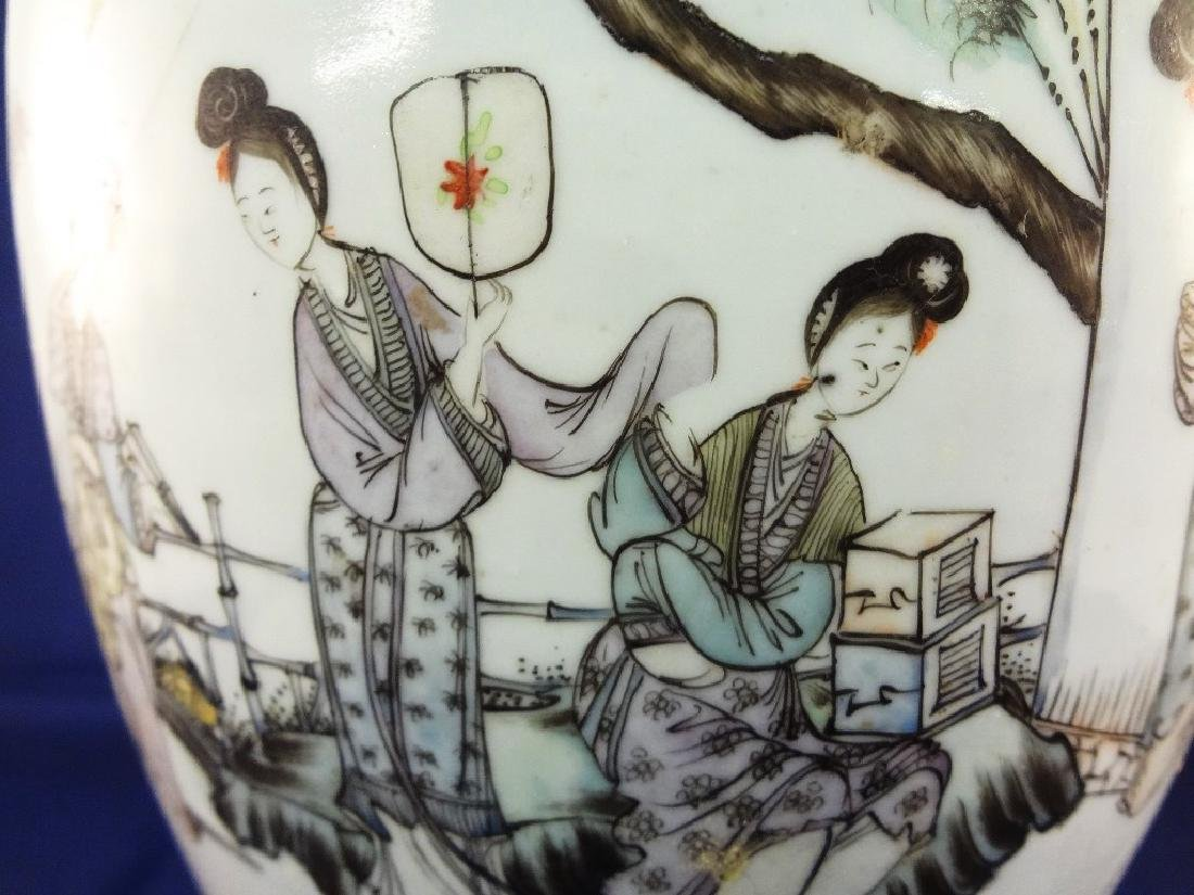 19th Century Lidded Chinese Ginger Jar - 6